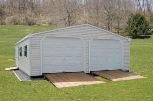 Double Wide Garage