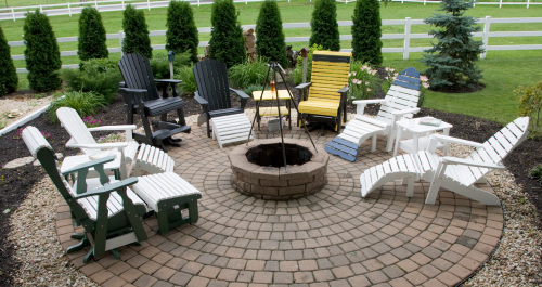 Assorted Poly Chairs And Tables