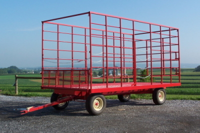 gap hill hay wagon