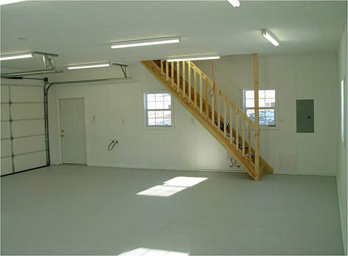 Garage Plans With Loft Workshop