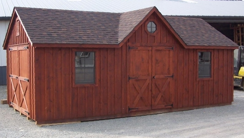 river view horse barn