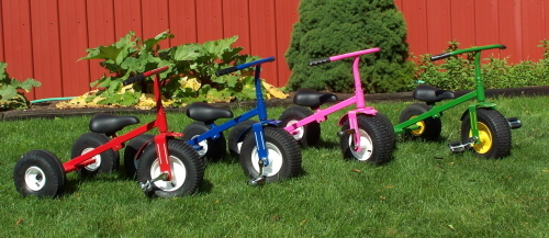 Heavy duty tricycles