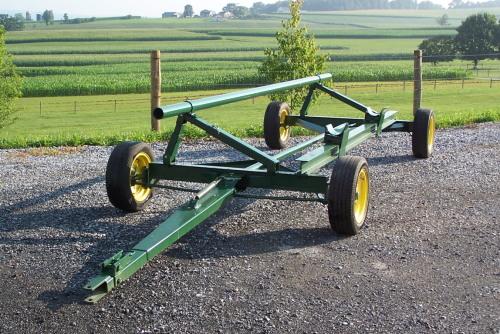 gap hill header wagon