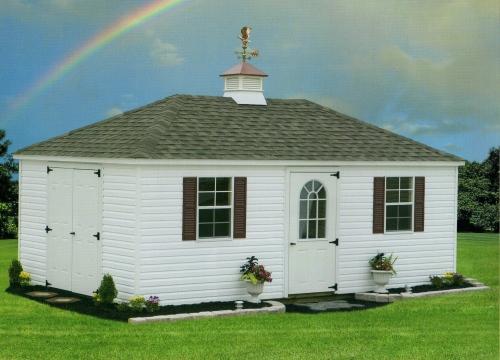 rainbow hip roof