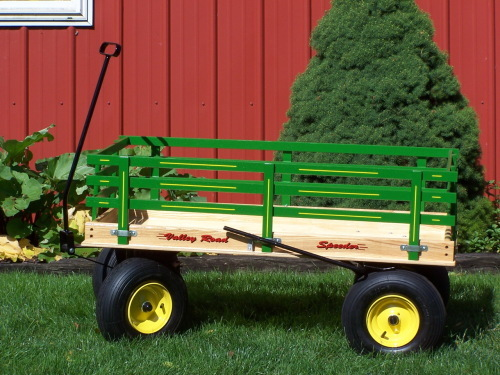 Wagon with brake